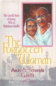 Kusturba Gandhi biography by Sunanda & Arun