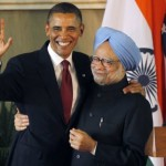 Obama praised Mahatma Gandhi to India's Parliament