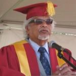 Transform Africa! Arun Gandhi Urges Graduates
