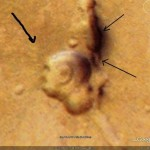 Gandhi's Face Found on Google Mars