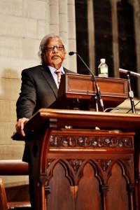 Arun Gandhi at Cornell