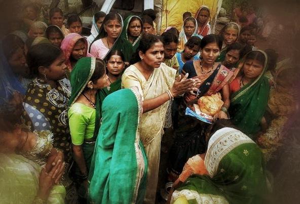 Anuradha Bhosale AVANI Kolhapur India Gandhi Worldwide
