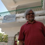 Arun Gandhi in Haiti with Haiti Relief