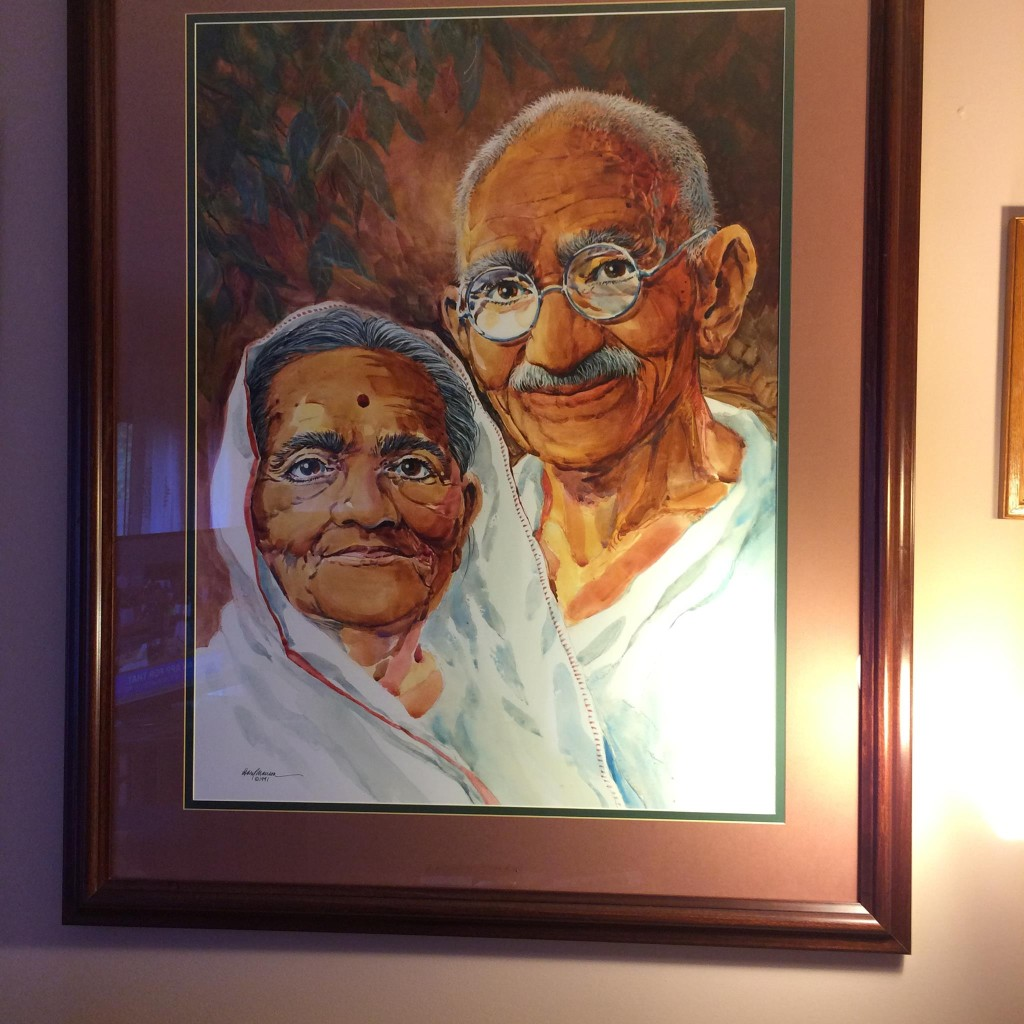 Bapu and Kasturba