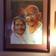 Bapu and Kasturba