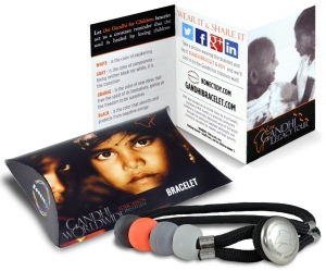 Get the Gandhi Bracelet and be the change!